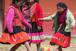 Bamba Experience Supports Futbol for Kids in Peru