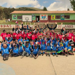Bamba Experience and Futbol for Kids Bring Football to the Huacatinco Village!