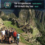 Inca Trail Trek wins Travellers' Choice on TripAdvisor
