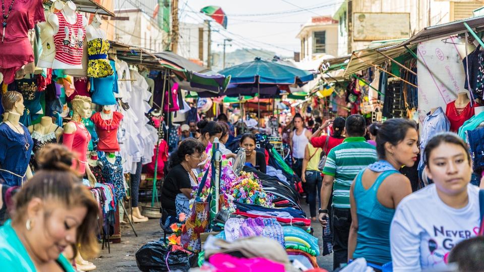 Market in El Salvador