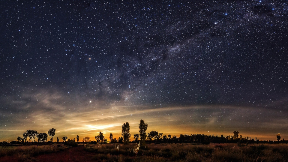 Milky Way as seen from Australia's outback